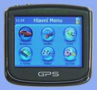 GPS navigace bez map + přehrávač (GPS/FOTO/MP3/MP4/E-BOOK)