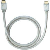 Oehlbach High Speed HDMI kabel s Ethernetem, White Magic, 0,4 m, bílý