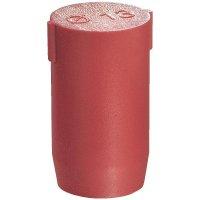 Záslepka Wiska BS 38 (10064018), polyamid, červená