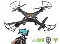 Kvadroptéra Dron s HD kamerou + WiFi K300C