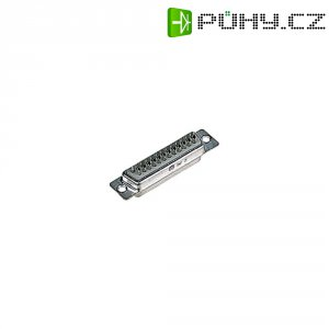 D-SUB kolíková lišta Harting 09 67 009 5615, 9 pin