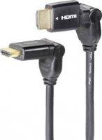 Speaka HDMI kabel s Ethernetem, 2 m a HDMI adaptér