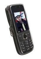 Krusell Classic pouzdro pro Nokia C2-01 černé