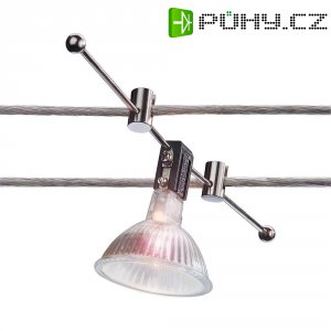 Lankové bodové svítidlo na tyčce, GX5.3, chrom