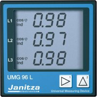 Panelové měřidloJanitza UMG 96S, CAT III 300 V