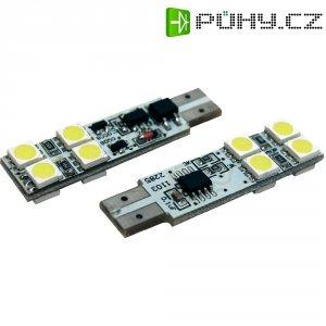 SMD LED žárovka Eufab T10, 13522, 1,2 W, W2.1x9.5d, bílá, 2 ks