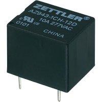 Relé do DPS Zettler Electronics 12 V/DC, 15 A, 1 přepínací kontakt, AZ943-1CH-12DE, 1 ks