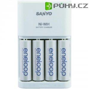 Nabíječka Sanyo MQN06 SY29112+ 4x NiMH AA
