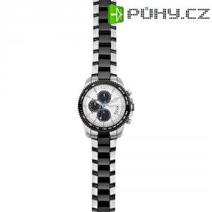 Ručičkové náramkové hodinky Regent F-658 Quartz, pánské, pásek z nerezové oceli