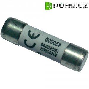 Jemná pojistka ESKA pomalá 1038317, 500 V, 1 A, keramická trubice, 10,3 mm x 38 mm