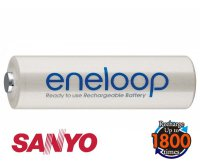 Baterie AA (R6) nabíjecí Eneloop SANYO 1.2V / 2000mAh micro