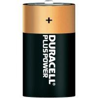 Alkalická baterie Duracell Plus, typ D, sada 2 ks