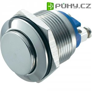 Tlačítko zajištěné proti vanda 19 mm