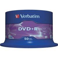 Verbatim DVD+R 4,7GB 16X 50 ks cake box