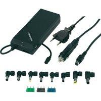 Síťový zdroj pro notebook Voltcraft AD-50, 12 - 19 VDC 3 A, 2x USB