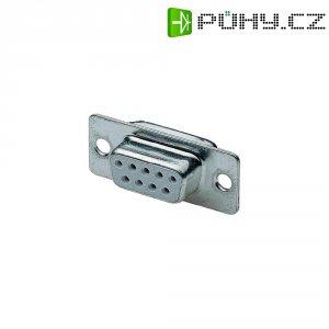 D-SUB zdířková lišta, 9 pin