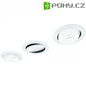 Vestavné LED osvětlení Philips Sculptor, 3x 7,5 W, bílá/hliník (579633116)