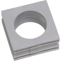 Kabelová objímka Icotek KT 24 (41224), 42 x 41,5 mm, šedá