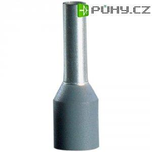 Dutinky s plastovým límcem Vogt Verbindungstechnik 490208, 0,75 mm², 8 mm, šedá, 100 ks