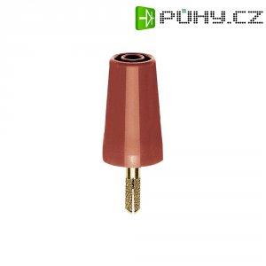 Adaptér 4/4 mm MultiContact 24.0160-22, TPE, rovný, červená