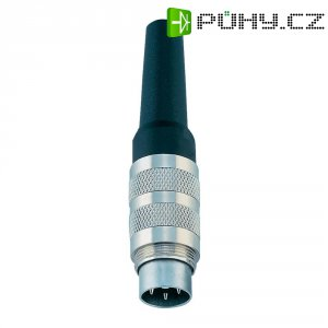 Kabelový konektor Binder 99-2029-00-12, zástrčka rovná, 12pól., 4 - 6 mm, IP40