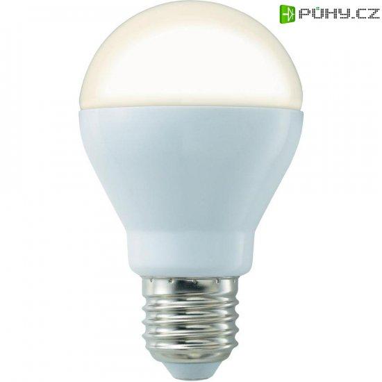 LED žárovka Basetech, E27, 8 W, 230 V, teplá bílá - Kliknutím na obrázek zavřete