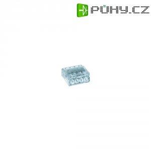 Svorka HellermannTyton, 148-90002, 0,5 - 2,5 mm², 4pólová, transparentní
