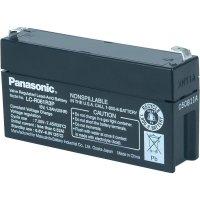 Olověný akumulátor VRLA Panasonic 6 V / 1,3 Ah