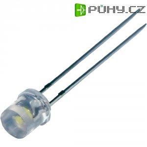 LED dioda kulatá s vývody Seoul Semiconductor, LY580, 20 mA, 5 mm, 2,1 V, 80 °, 240 mcd, žlu