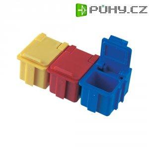 ESD SMD box vodivý Licefa N1-11-11-8-8, (d x š x v) 16 x 12 x 15 mm, modrá