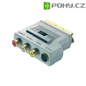 Adaptér Sound & Image SCART/3 Cinch+S-VHS