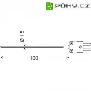 Teplotní čidlo Greisinger GTE 130 OK, typ K, -65 až +400 °C, 101070