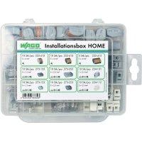 Instalační box Wago Home, 85 dílný, 1,5 - 4 mm², 2 - 5 pin