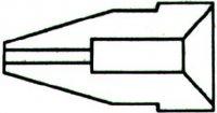 Dutý hrot pro odsávačku v CT858,859 1,2/2,8mm