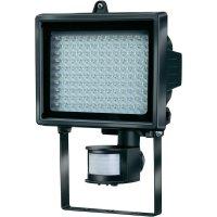 LED reflektor s PIR čidlem Brennenstuhl L 130, 8 W, černá