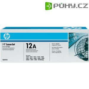 Toner do tiskárny HP Q2612A černý