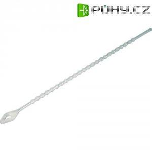 Perličkové stahovací pásky KSS TV100, 100 x 2,5 mm, 100 ks, transparentní