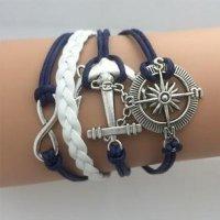 Šperk náramek Infinite modrá 1