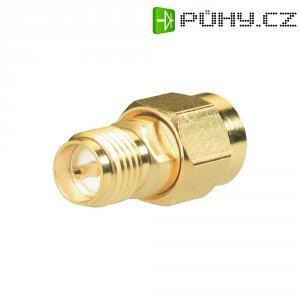 SMA Reverse zástrčka / SMA Reverse zásuvka BKL Electronic 419100, 50 Ω, adaptér rovný