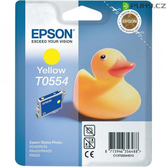 Cartridge do tiskárny Epson T0554, C13T05544010, žlutá - Kliknutím na obrázek zavřete