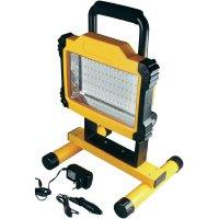 Akumulátorový pracovní LED reflektor 1700 97231, černá/žlutá