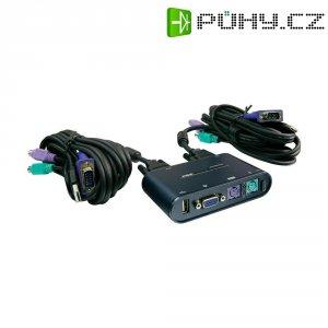 KVM přepínač PS/2 s USB