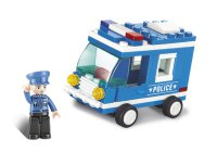Stavebnice SLUBAN POLICE POLICEJNÍ VŮZ M38-B0177