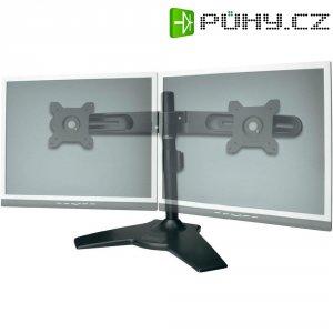 """Stolní držák na 2 monitory, 38 - 61 cm (15\"""" - 24\""""), černá, Digitus"""