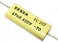 47n/400V TC217, svitkový kondenzátor axiální