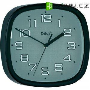 Analogové nástěnné quarz hodiny, Ø 30 cm, černá