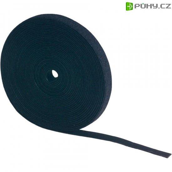 Stahovací páska se suchým zipem Fastech 910-010, bílá, 1 m x 20 mm, bílá, 1 m - Kliknutím na obrázek zavřete