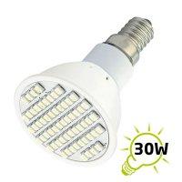 Žárovka LED E14/230V (60SMD) 3W - bílá