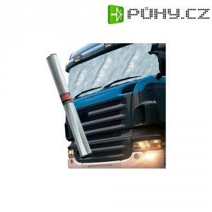 Hliníková clona na přední sklo HP Autozubehör 18242, 255 x 100 cm