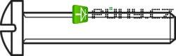 Šrouby s čočkovitou hlavou, křížová drážka DIN 7985 M2x10 , 100 ks